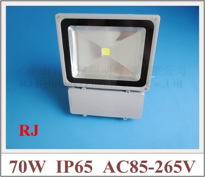 70W LED flood light floodlight waterproof LED spot lamp 70W (1*70W) AC85-265V 5600lm IP65 CE ROHS aluminum+reinforced glass