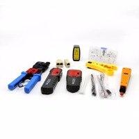 Сеть Ремонт набор инструментов с провода Tracker NF 268 для зачистки проводов монтажным инструмент для обжима обслуживания набор инструментов