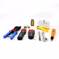 Network Repair Tool Kit With Wire Tracker NF 268 Wire Stripper Punch Down Tool Crimping Tool Maintenance Tool Set