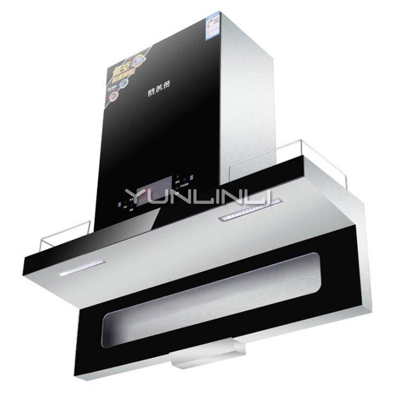 Hotte intelligente détecteur de mouvement contrôle de cuisine ventilateur ménage huile fumée échappeur CXW-218