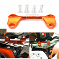 Motorcycle accessories cnc Handlebar Risers Top Cover Clamp Dirt Bike For KTM DUKE 390 200 125 DUKE125 DUKE200 DUKE390 with logo