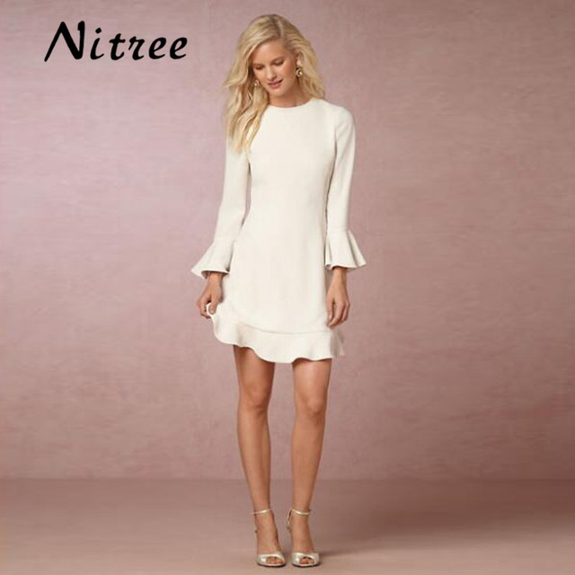 blanco corto chic boho estilo sirena vestidos de novia mariage playa