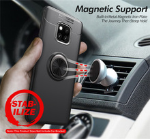 For Huawei Mate 20 Pro Case Luxury Car Bracket Ring Magnetic TPU Protective Lite 20X Mate20