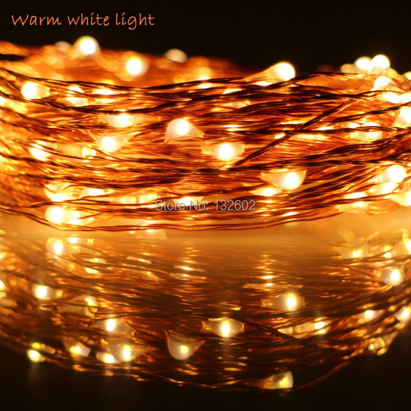 Us 8 81 10 Off 6m 10m 12m 5modes 3aa Battery Operate Led String Lights Outdoor Waterproof Copper Wire Starry Christmas Fairy Lights In Led String