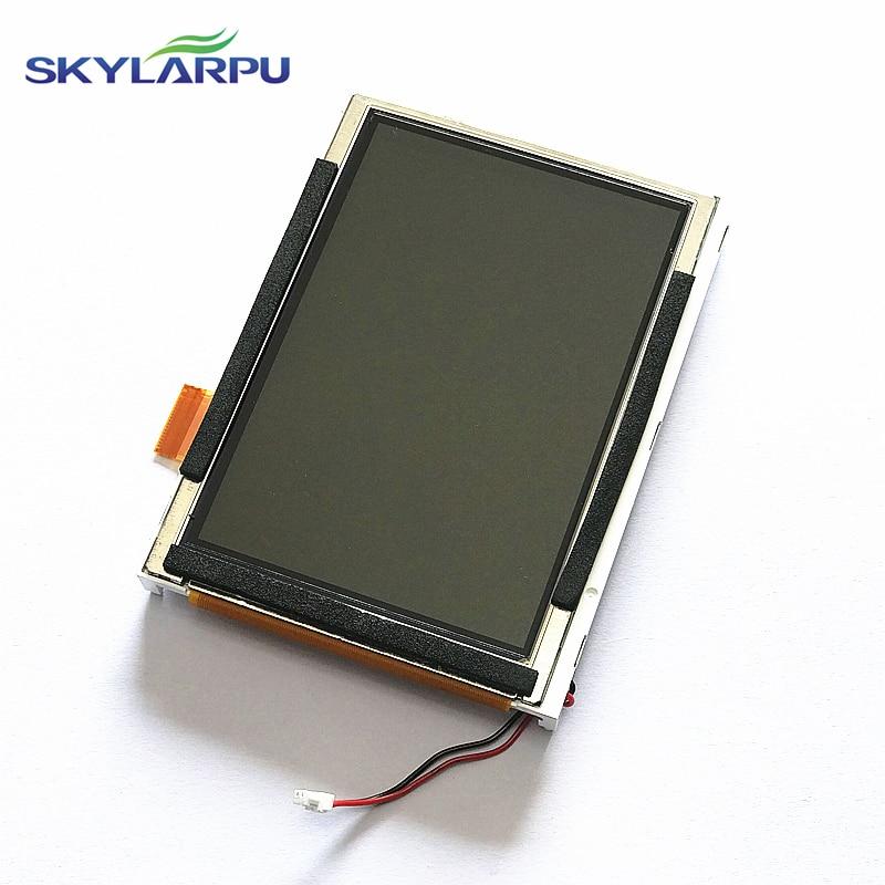 skylarpu 3 8 inch LQ038J7DD01 LCD screen for Garmin gpsmap 276C plus GPS LCD display Screen