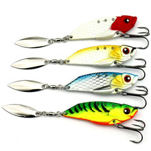 KKWEZVA 20g 6cm lure special price catfish spoon fishing lures cicada metal lure bass lure for