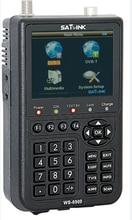 "Original Satlink WS-6909 3.5 ""DVB-S & DVB-T Combo medidor de satélite localizador de satélite 6909 satlink ws 6909 frete grátis"