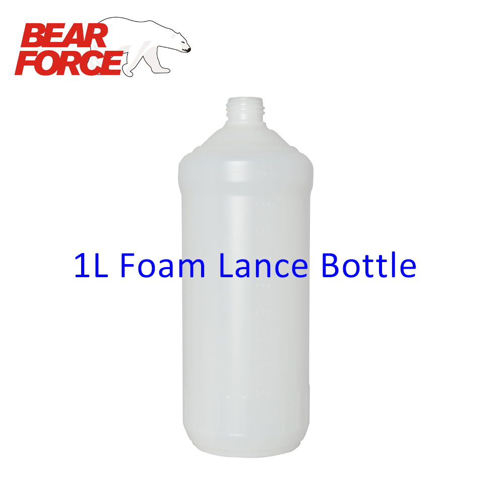 1L Plastic Bottle Container For Foam Nozzle / Foam Gun / High Pressure Soap Foamer/ Foam Generator