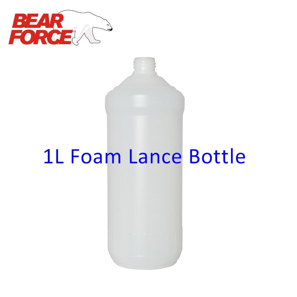 1L Plastic Bottle Container for Foam Nozzle / Foam Gun / High Pressure Soap Foamer/ Foam Generator