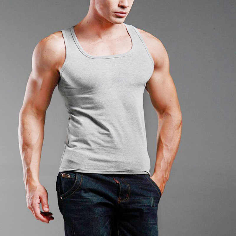 4efcff546d0d5 Detail Feedback Questions about NEW Men s Plain T Shirts Tank Top ...