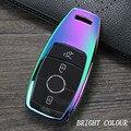 Цинковый сплав чехол для ключа автомобиля для Mercedes-Benz W177 W205 W213 W222 A205 A217 A238 S205 S213 C205 C217 C238 C257