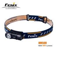 Neue Ankunft Fenix HM50R CREE XM-L2 U2 LED Max 500 Lumen Mehrzweck Wiederaufladbare Scheinwerfer für Alle Jahreszeiten