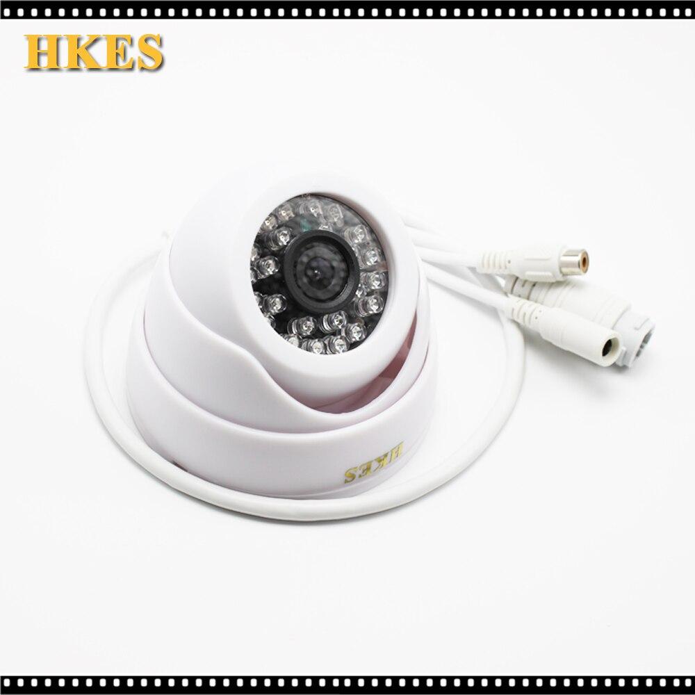 HKES Mini Audio IP cam 720P HD P2P wired network IP Camera Microphone Surveillance Camera IOS&Android APP audio hd 1920 1080p wired ip camera 2mp ip cam p2p indoor
