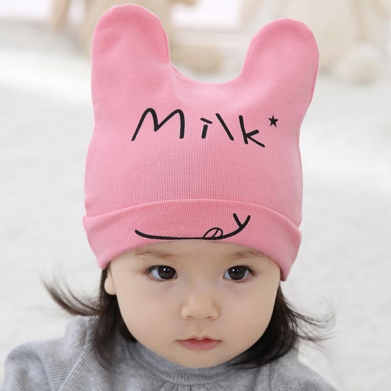 Cotton Newborn Knited Crochet Cap 2016 High Quality Girl Hat Milk Cartoon Muts Winter Baby Beanie Hats Accessories New