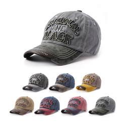 Ретро выглядит старым Для мужчин и wo Для мужчин бейсболка с надписью промывают парусиновая шапка вне Зонт мужской и женский шляпа