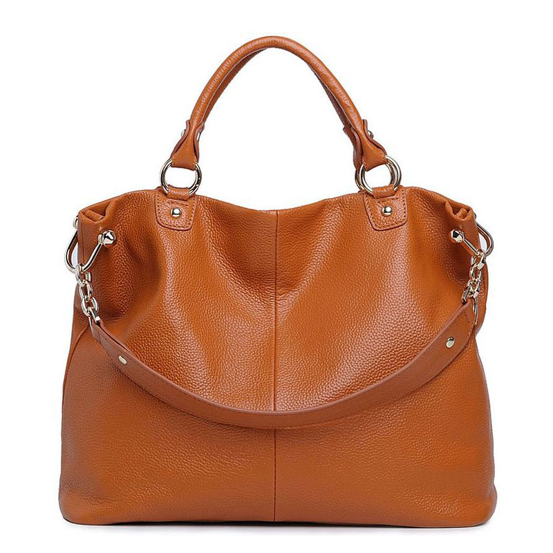 2017 Hot Selling Women Bag Brand Fashion Top Genuine Leather Handbag Women's Shoulder Crossbody bag Top Cowhide Portable Totes luxury genuine leather bag fashion brand designer women handbag cowhide leather shoulder composite bag casual totes