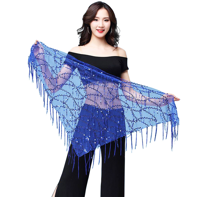 New Style Belly Dance Costumes Sequins Tassel Indian Belly Dance Hip Scarf For Women Belly Dancing Belt 11kinds Of Colors