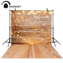 Allenjoy photography backdrop yellow halo wood christmas decor background photobooth photo studio decoration photo shoot