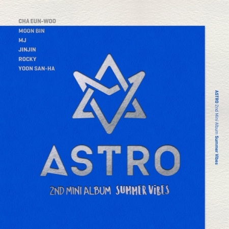 ASTRO 2ND MINI ALBUM - SUMMER VIBES  Release Date 2016.07.01