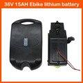 Wiederaufladbare 36 V 500 Watt Elektrische fahrradbatterie 36 V 15AH Lithium Batterie packung Ebike akku mit 15A BMS 42 V 2A ladegerät Freies verschiffen|Elektrofahrrad Akku|Sport und Unterhaltung -