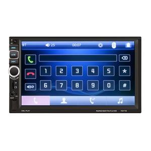 Image 2 - HEVXM 7031TM 2 דין מגע מסך רכב MP5 נגן אוניברסלי רדיו סטריאו לרכב אודיו וידאו מולטימדיה נגן מראה קישור