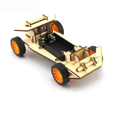 DIY Mini Wooden Electronic Power Vehicle Car Model Kit 4WD Handmade Scientific Experiments Education Toy for Kids Children GiftDIY Mini Wooden Electronic Power Vehicle Car Model Kit 4WD Handmade Scientific Experiments Education Toy for Kids Children Gift