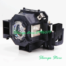 High Brightness Projector lamp With Housing V13H010L42 ELPLP42 for Epson EMP-822 EMP-822H EMP-83 EMP-83C EMP-83H EMP-83HE стоимость