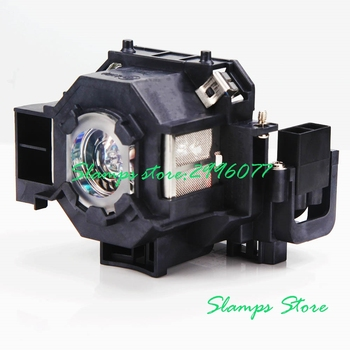 High Brightness Projector lamp With Housing V13H010L42 ELPLP42 for Epson EMP-822 EMP-822H EMP-83 EMP-83C EMP-83H EMP-83HE free shipping lamtop compatible projector lamp with housing cage for emp 810