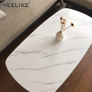 Image 4 - Waterproof PVC Vinyl Shelf Liner Marble Contact Paper for Kitchen Countertops Bathroom Self adhesive Wallpaper Home Decoration