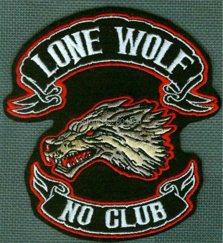 4 3 CAFE RACER ROCKERS FOREVER LONE WOLF NO CLUB 1 ER HOG OUTLAW BIKER Vest