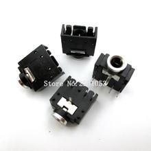 Connecteur pour prise Audio stéréo de 3.5mm, 20 pièces/lot, connecteur pour PCB 5 broches 3F07