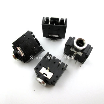 20 sztuk partia 3 5mm gniazdo stereo jack złącze audio jack PCB 5Pin 3F07 tanie i dobre opinie WEIDILY