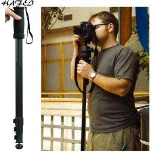 Image 2 - HAFEI סגסוגת מקצועי חצובה מצלמה חדרגל WT 1003 עבור Canon Eos ניקון D SLR DSLR משלוח חינם קל משקל 67 אינץ