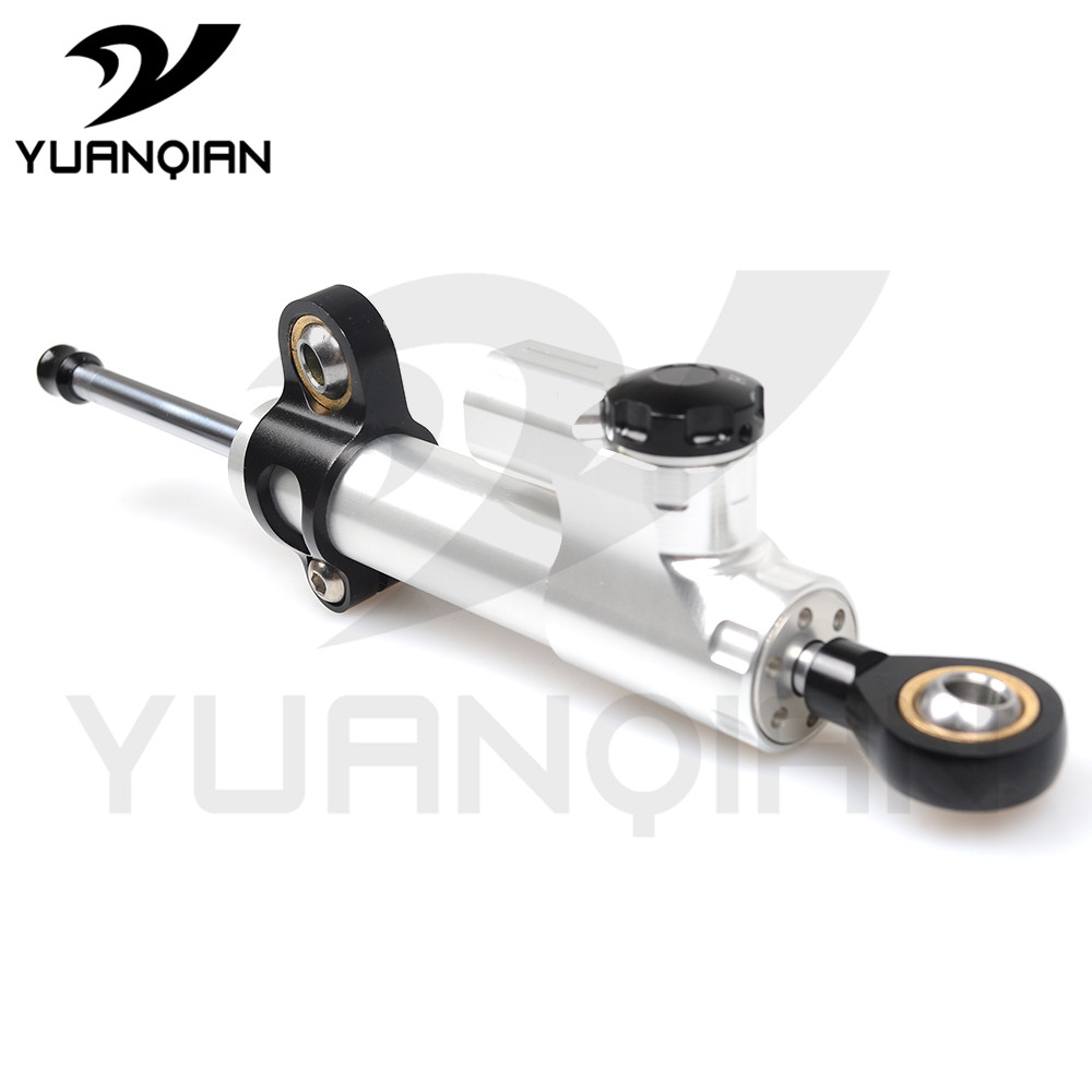 Motorcycle motocross moto StabilizerLinear Damper Complete Steering Mounting Bracket for TRIUMPH 675 STREET TRIPLE TIGER 1050 for triumph tiger 800 tiger 1050 tiger explorer 1200 easy pull clutch cable system