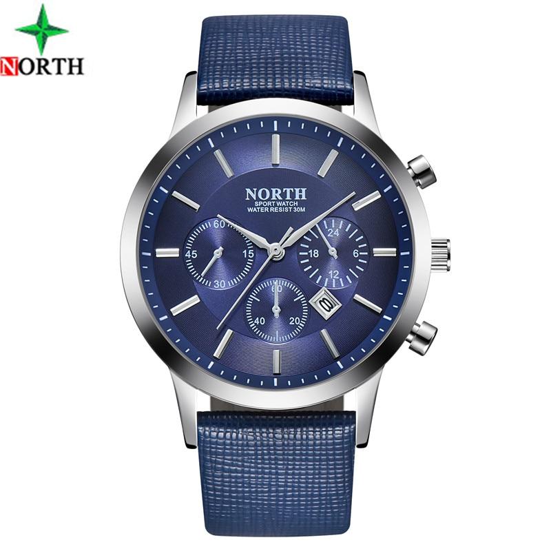 2018 Sport Mens Watches Top Brand Luxury Men Dress Watch Leather Male Stainless Steel Waterproof Sport Wrist Business Watch Men guess sport steel w0366g4