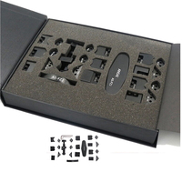 Nuevo Lateral Doble Corner frame iCorner Herramienta de reparación de la herramienta del teléfono celular kit para el iphone 6 s 6 plus 5g 5g ipod touch4 ipad aire mini