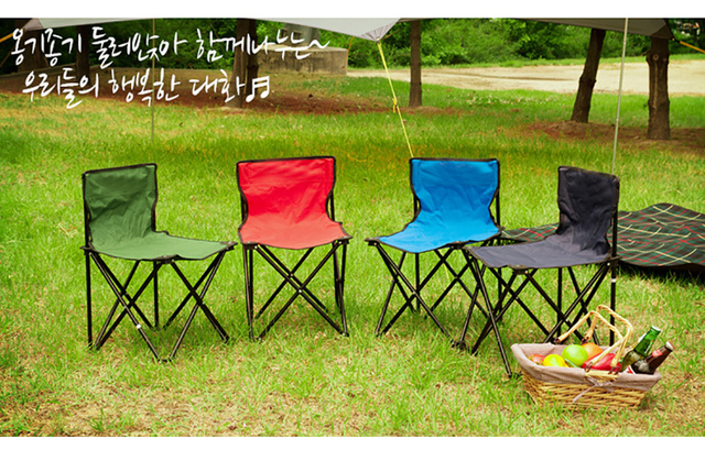 High Quality Outdoor Camouflage Foldable Chair 4
