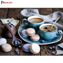 Diamond Painting Cross Stitch Coffee Cup Handicraft Embroidery Full Sets Elegant Serise Home Decor Wall Art DIY