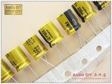 30PCS Nichicon FW Series 330uF/25V audio electrolytic capacitors free shipping