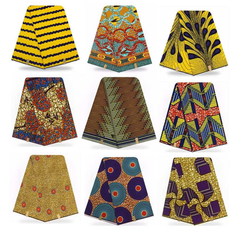 African Hollandais Fabric Real Dutch Wax for Wedding Dress Sewing High Quality African Real Soft Wax Prints Fabric 6yards/lot African Hollandais Fabric Real Dutch Wax for Wedding Dress Sewing High Quality African Real Soft Wax Prints Fabric 6yards/lot