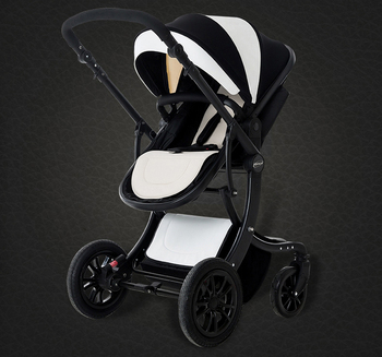 Baby trolley can sit flat lying high landscape folding baby children four seasons universal neonatal cart