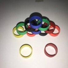60 pz/borsa 10pcs ogni colore del ring per neutrik nc3fxx e nc3mxx brand new spina del microfono a sinistra e canale destro di colore