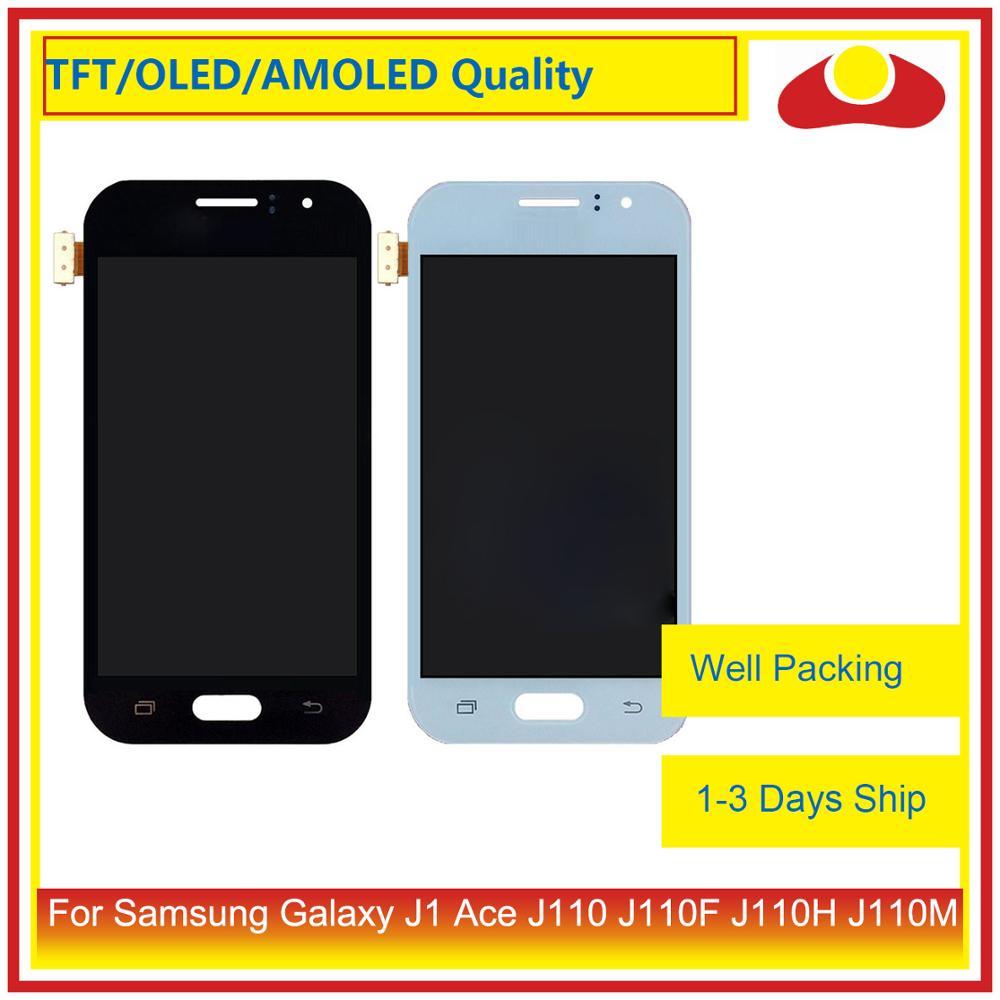 """Оригинальный 4,3 """"для Samsung Galaxy J1 Ace Sm J110 J110 J110F J110 ЖК дисплей с сенсорным экраном дигитайзер панель в сборе-in ЖК-экраны для мобильного телефона from Мобильные телефоны и телекоммуникации"""