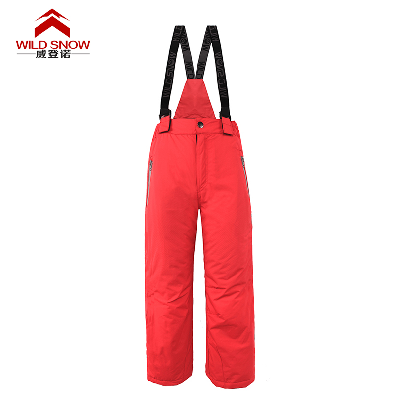 WILD SNOW Childrens outdoor professional thermal ski pants camping hiking pants ski pants