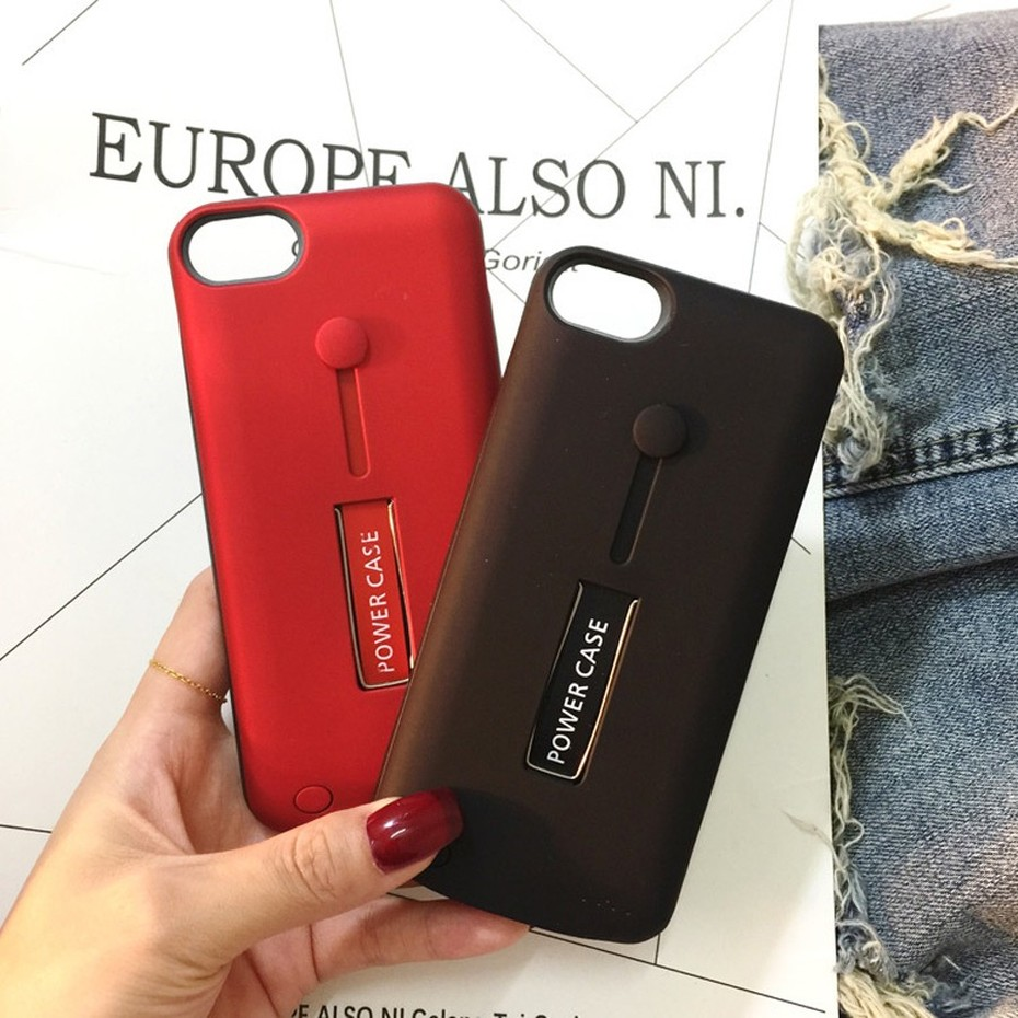 KHP Battery Charger Case For iPhone 6 6s 7 8 Plus 3500mAh4000mAh5000mAh Powerbank Case For iPhone X XR Xs Battery Charger Case (5)