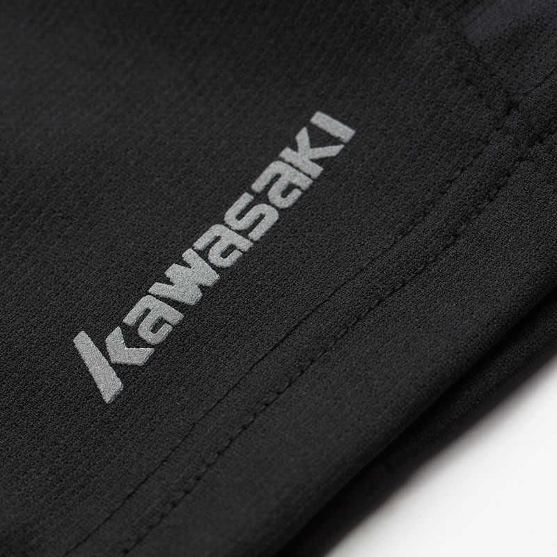 2019 Kawasaki Estate running Pantaloncini Gli Uomini 100% Poliestere Quick Dry Allenamento Fitness Run Sport Grigio shorts per il Maschio SP-S3651