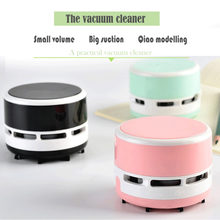 2018 Useful Desktop Vacuum Cleaner Small Size Clean Scraps Machine Portable Dust Collector For Notebook Computer Keyboard(China)