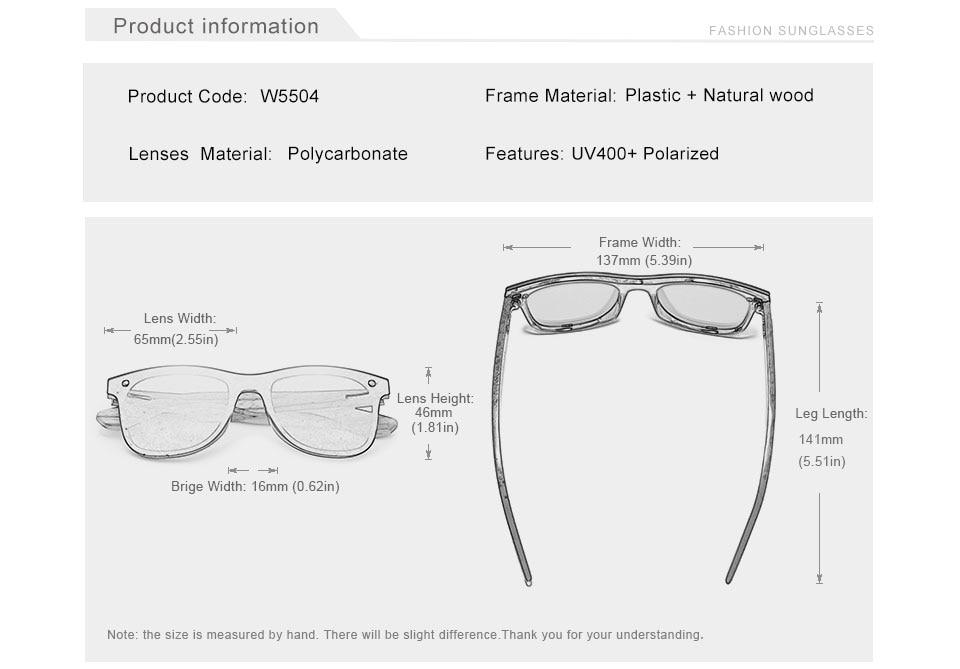 KINGSEVEN 2019 Handmade Walnut Wooden Eyewear Polarized Mirror Sunglasses Men Women Vintage Design Oculos de sol masculino UV400