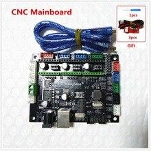 MKS DLC GRBL ЧПУ контроллер материнской платы grbl лазерный контроллер DIY ЧПУ USB порт 3 оси шаговый двигатель драйвер управления