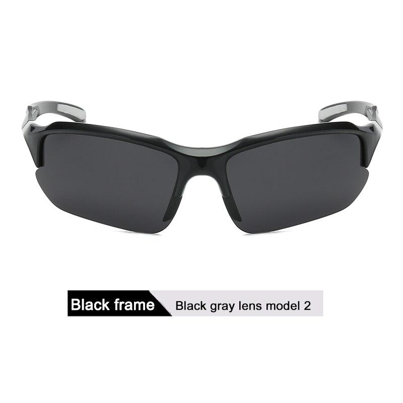 DONQL, поляризационные солнцезащитные очки для рыбалки, мужские спортивные очки для велоспорта, поляризационные линзы, UV400, очки для рыбалки, очки для ночного видения, женские - Цвет: 2